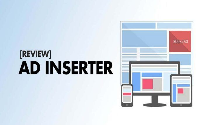 How to place ad in wordpress inserter